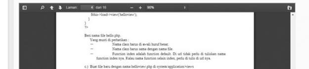Menghilangkan Toolbar Button (Download, Print) pada iframe