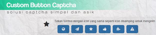 Membuat Custom Button Captcha Dengan Font Awesome